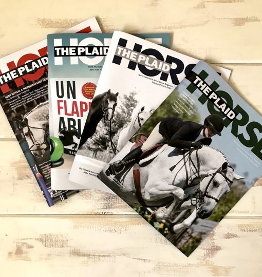 The Plaid Horse Magazine - One Year Subscription