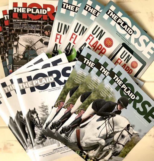 The Plaid Horse Magazine - One Year BOX Subscription
