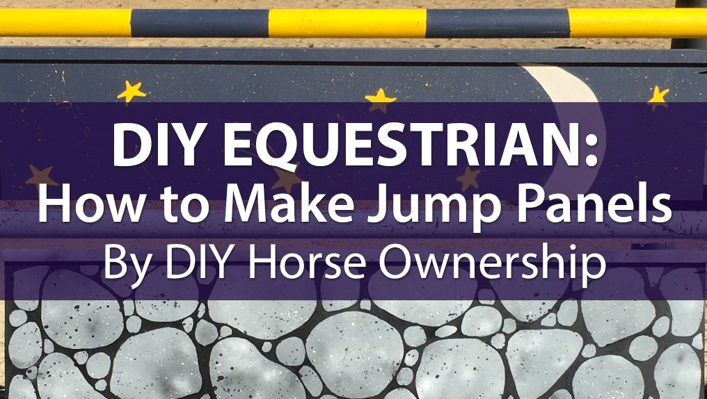 Equestrian Diy How To Make Horse Jump Panels The Plaid