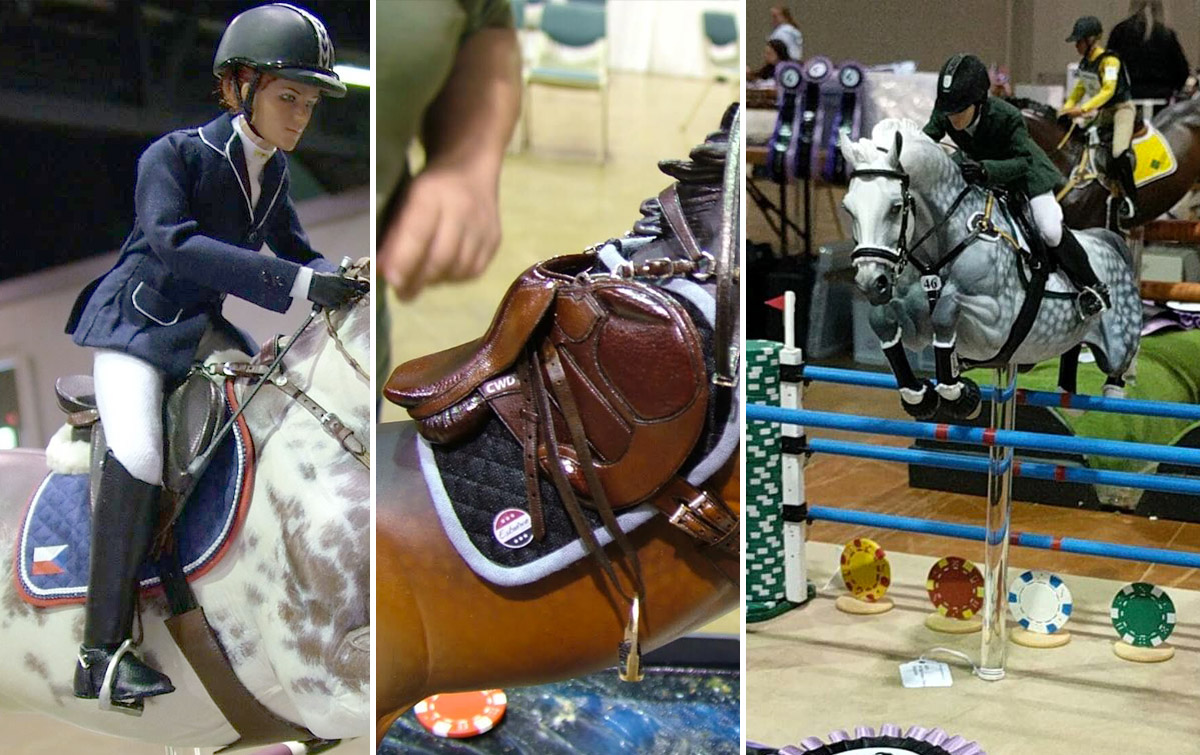 Tiny Model Horse Tack So Amazing You Ll Think It S The Real Thing The Plaid Horse Magazine